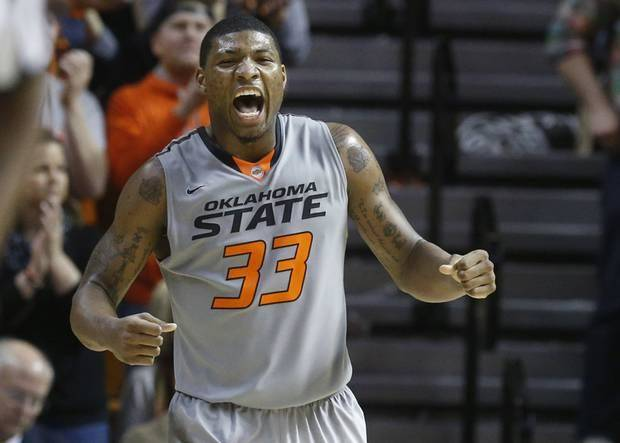 Marcus Smart have turned down four requests to work out for the Utah Jazz, who have the No. 5 pick in June 26's NBA Draft. (AP Photo/Sue Ogrocki)