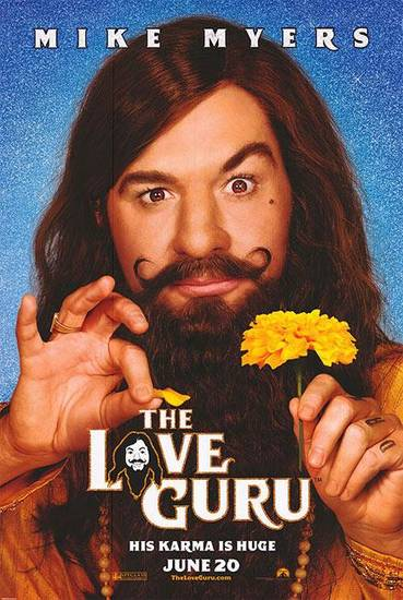 Love Guru poster featuring Mike Myers