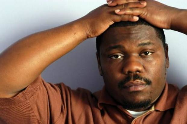 Beanie Sigel during a photo shoot in 2004 (AP Photo/Jim Cooper)