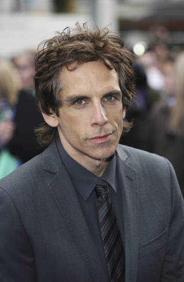 U.S. Actor Ben Stiller arrives at the World film premiere of 'Night at the Museum 2', at a cinema in London, Tuesday, May 12, 2009. (AP Photo/MJ Kim) ORG XMIT: LMK104