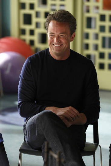 GO ON -- Episode 102 -- Pictured: Matthew Perry as Ryan King -- (Photo by: Justin Lubin/NBC)