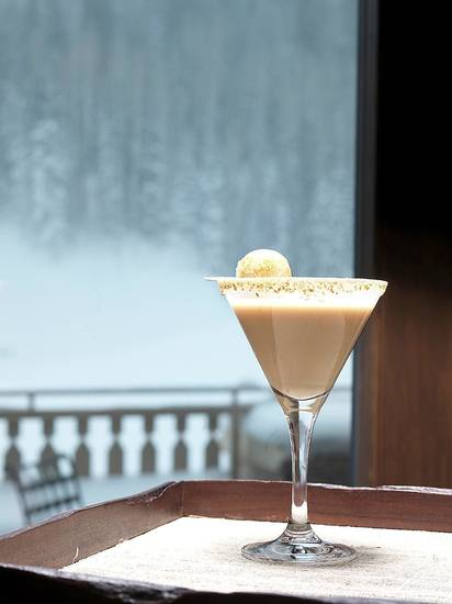 A s�mores martini, is served a Montage Deer Valley resort in Park City, Utah. Photo by Montage Deer Valley/AP