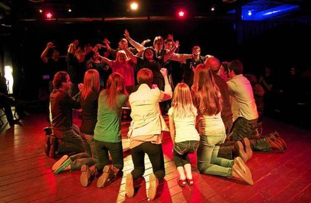OKC Improv begins its run this week with the Metro Library System's Neighborhood Arts Program. Photo provided.