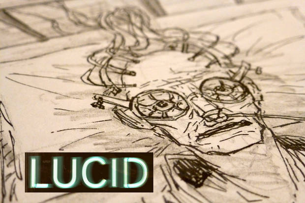 Promotional art for �Lucid� by Tim Berry and Natasha Alterici. Image provided