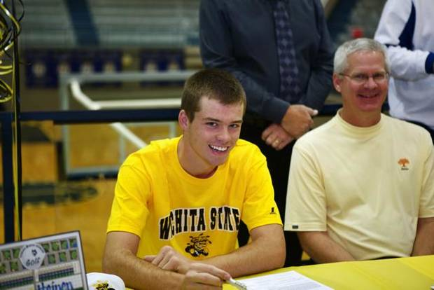 Alec Heinen of Edmond North signs with Wichita State to play golf.