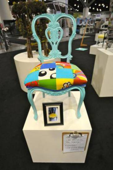 Visitors will also have a chance to support Cleveland County Habitat for Humanity with a ?Chair-ity? auction featuring average wooden chairs that have been transformed into stylish art pieces. <strong></strong>