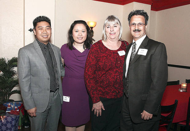 Kim Lee, Betty Tsai, Tammy and Dr. Tomas Owens.  Photos by David Faytinger for the Oklahoman