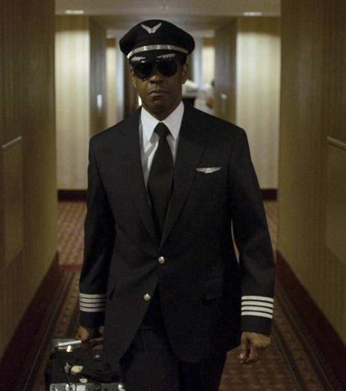 "Denzel Washington plays Whip Whitaker in ""Flight."" Paramount Pictures photo. <strong>Paramount Pictures</strong>"