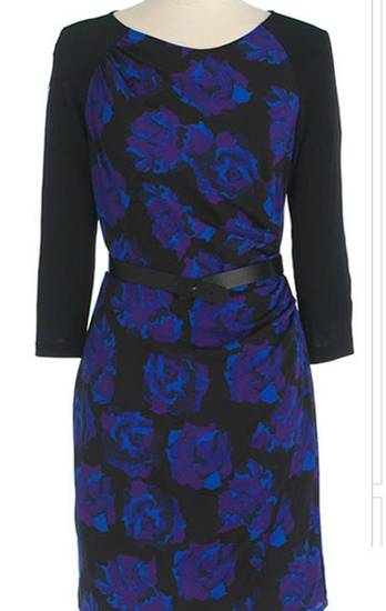 Floral prints are making a big comeback this spring. Here, DKNYC floral print faux wrap dress from Lord andTaylor.com for $104.25. (Courtesy LordandTaylor.com via Los Angeles Times/MCT)