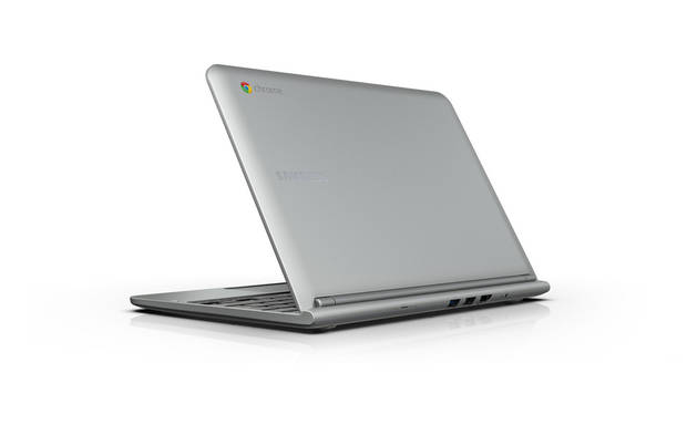 The Samsung Chromebook from Google is billed as a laptop &quot;for everyone.&quot; PHOTO PROVIDED. &lt;strong&gt;&lt;/strong&gt;