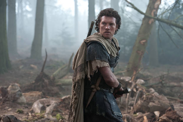 "Sam Worthington portrays Perseus in this scene from ""Wrath of the Titans."" WARNER BROS. PHOTO <strong>Warner Bros.</strong>"