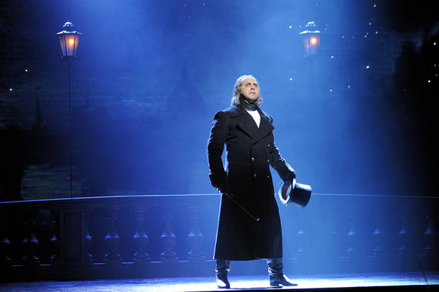 "Andrew Varela as Javert in ""Les Miserables""   Photo by Deen van Meer <strong>Deen van Meer</strong>"