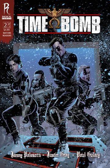 "The cover to ""Time Bomb"" issue 2"