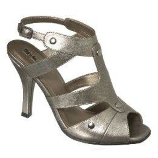 Mossimo metallic nail head sandal, $29.99, at Target.