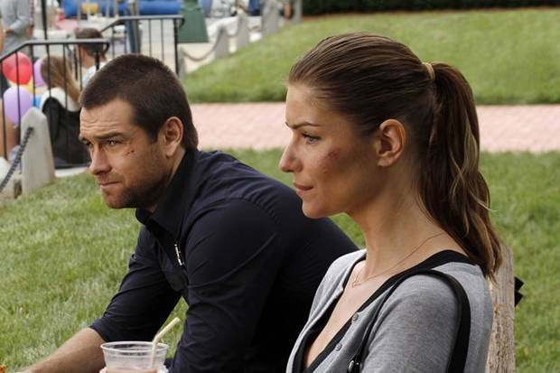 "Antony Starr and Ivana Milicevic star in ""Banshee."" - Photo courtesy of Fred Norris/Cinemax"