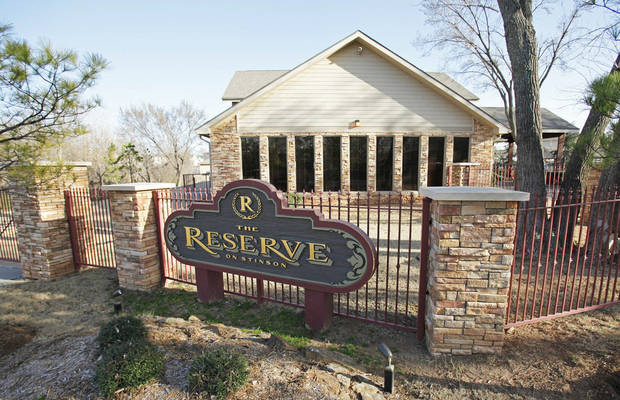 The Reserve on Stinson, student-oriented apartments at 730 Stinson St. in Norman, with 612 beds and 204 units, sold in February  for $22.9 million, or $112,488 per unit. PHOTO BY STEVE SISNEY, THE OKLAHOMAN