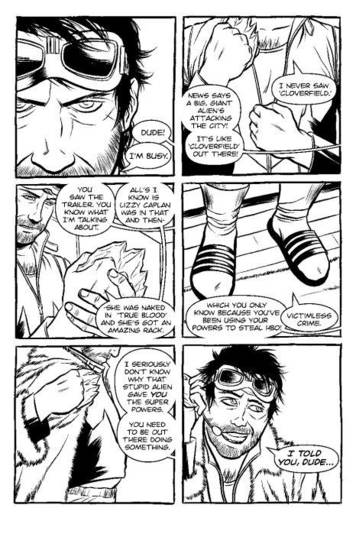 "A page from ""Knuckleheads."""