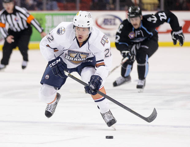 Oklahoma City Barons hockey. PHOTO BY STEVEN CHRISTY/OKC BARONS PROVIDED