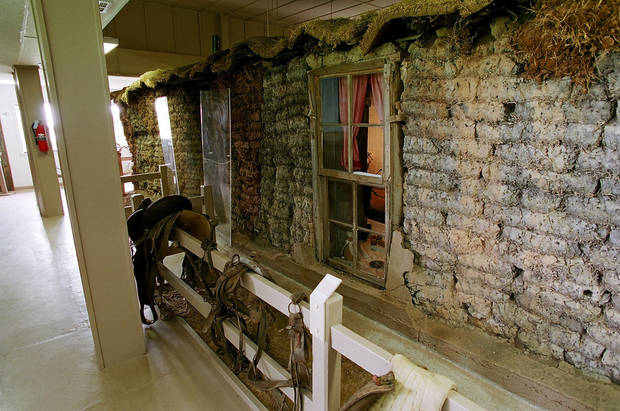 The Sod House Museum in Aline, near Cleo Springs, features the only sod house built by a homesteader that still stands in Oklahoma, a two-room �soddy� built in 1894. PHOTOS PROVIDED