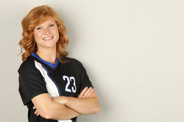 GIRLS HIGH SCHOOL SOCCER: All-City girls soccer player of the year, Deer Creek's Madi Smith in Oklahoma City, Tuesday, May  29  2012. Photo By Steve Gooch, The Oklahoman