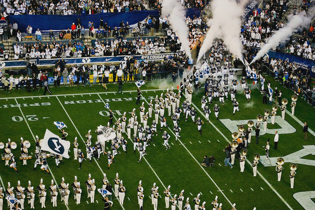 A BYU partnership with the Big 12? Why not?  (AP Photo/The Daily Herald, Spenser Heaps, File)