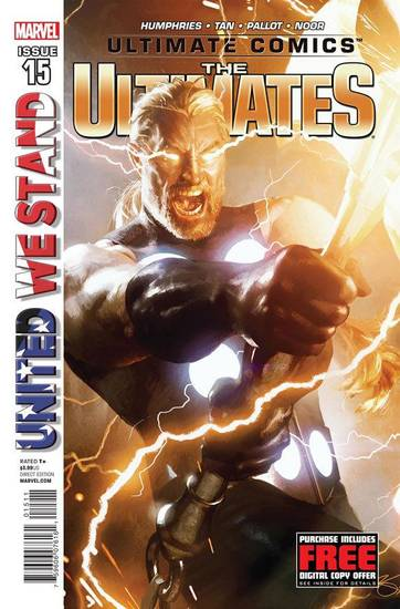 "The cover to ""Ultimate Comics Ultimates"" No. 15. Marvel Comics. <strong></strong>"