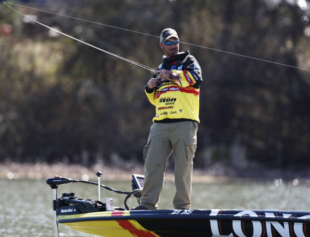Jeff Kriet of Ardmore, a former runner-up in the Bassmaster Classic, will be teaching at The Bass University Saturday and Sunday in Tulsa.