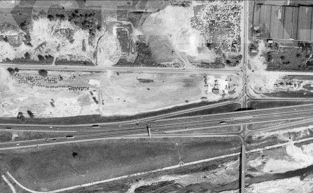 Reno and Eastern, 1969. Image from www.okctalk.com, which has 1969 aerial photos of the entire city.