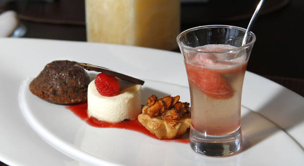 Dessert at Vast draws inspiration from around the globe. Photo by Steve Gooch, The Oklahoman <strong>Steve Gooch - The Oklahoman</strong>