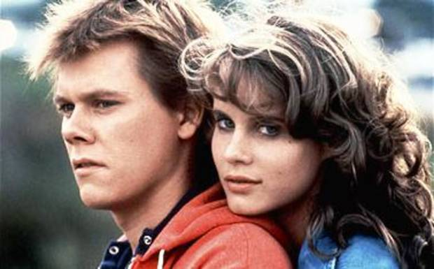 "Kevin Bacon and Lori Singer in 1984's ""Footloose."" PHOTO PROVIDED BY Paramount Pictures"