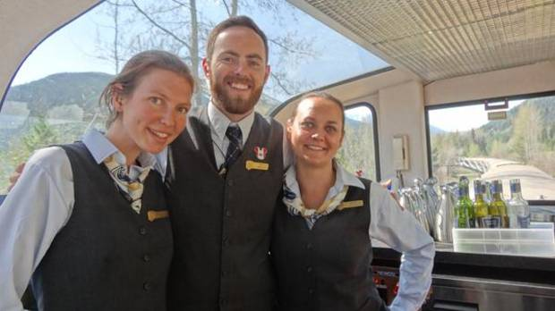 Our Rocky Mountaineer hosts