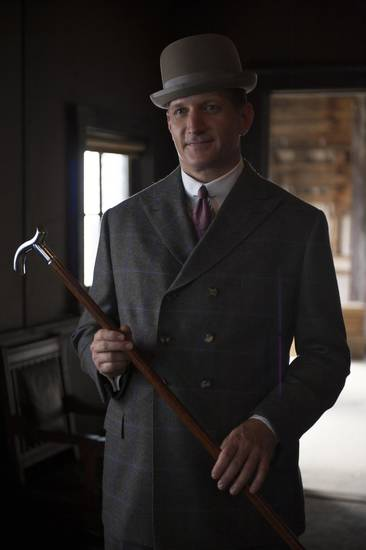 "Paul Sparks, an Oklahoma native, stars as Mickey Doyle in ""Boardwalk Empire."" - HBO Photo"