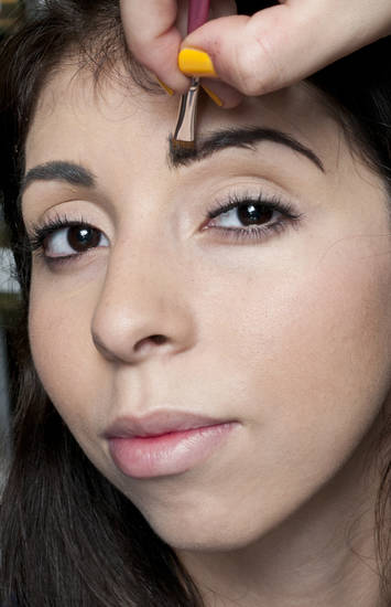 Full and shapely brows are back. A few tips to create the look include using brow shadow to cover any bare spots. (MCT)