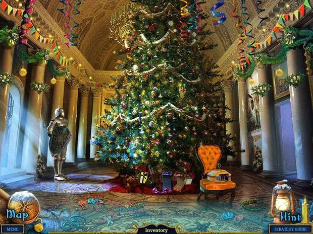 "This screen shot from the new iPad application ""Christmas Stories: Nutcracker Collector's Edition HD"" shows the great hall where players first meet the Nutcracker. PHOTO PROVIDED <strong></strong>"