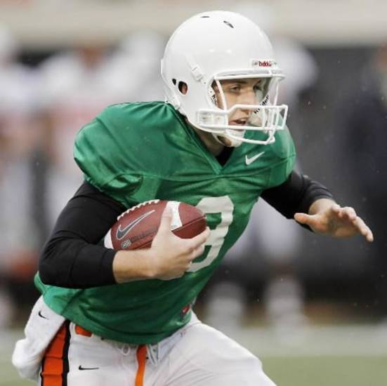 Johnny Deaton will battle to backup Brandon Weeden this spring.