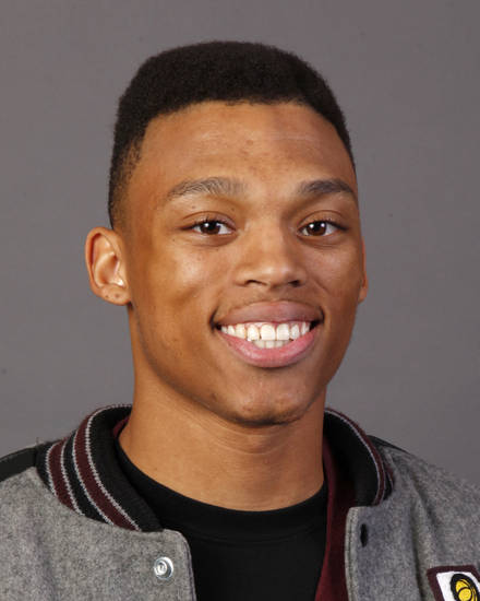 MUG: Caleb Crayton, Northeast boys basketball player, poses for a photo during winter high school sports photo day at OPUBCO in Oklahoma City, Wednesday, Nov. 16, 2011. Photo by Nate Billings, The Oklahoman
