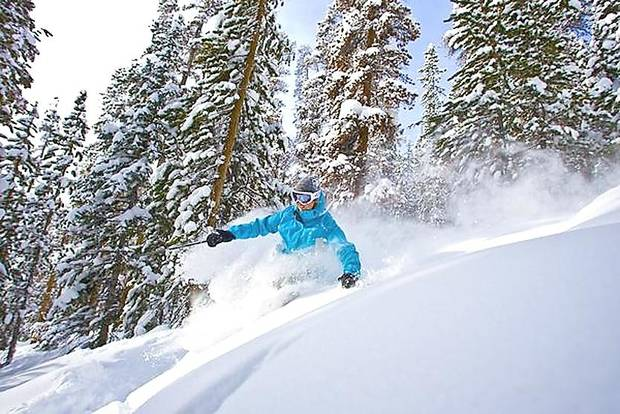 Numerous trails with a wide variety of skill levels greet skiers to Winter Park, which is one of the closest ski resorts to Denver in all of Colorado. Photo provided