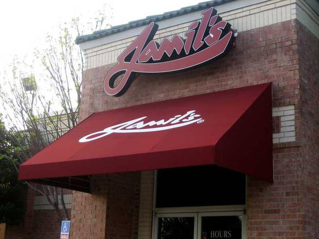 Jamil&#039;s of Tulsa, 3823 East 51st Street.