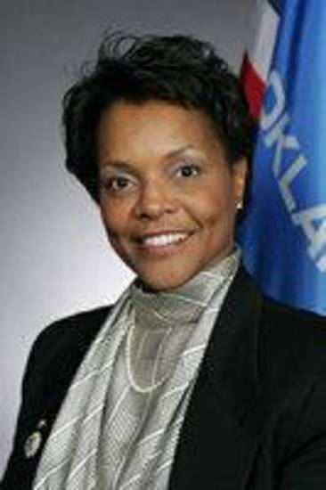 State Sen. Connie Johnson, D-Oklahoma City    ORG XMIT: 0911272324582128