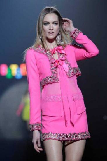 Betsey Johnson fall 2012 collection shown during New York Fashion Week. AP PHOTO
