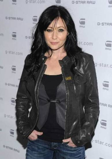 In this Feb. 16, 2010 file photo, actress Shannen Doherty attends the G-Star Fall 2010 collection, in New York. (AP Photo/Peter Kramer, file)