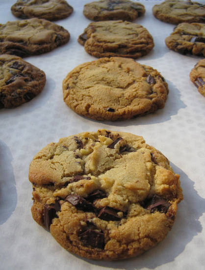 "This recipe for chocolate chip cookies is adapted from the October 2012 issue of Saveur magazine; contributed by Sarah Copeland, author of ""The Newlywed Cookbook."" (Rick Nelson/Minneapolis Star Tribune/MCT)"