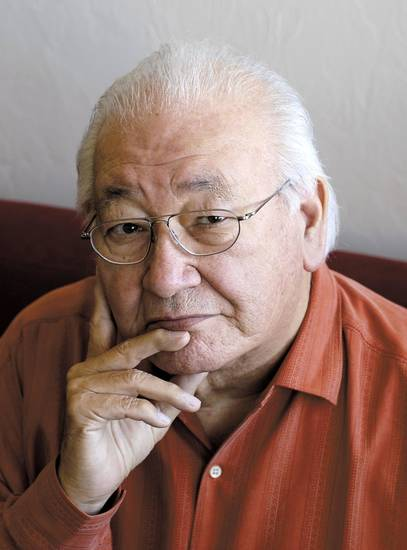 Pulitzer Prize-winning author N. Scott Momaday will read from his books at 7 p.m. Tuesday, Oct. 30, at Oklahoma City University. &lt;strong&gt; - Provided&lt;/strong&gt;