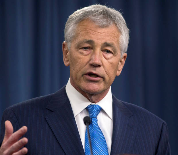 Defense Secretary Chuck Hagel <strong> - AP</strong>