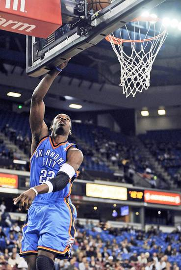 Jeff Green's last-second heroics weren't enough to get the Thunder a win Sunday in Sacramento, Calif., against the Kings. Ap photo