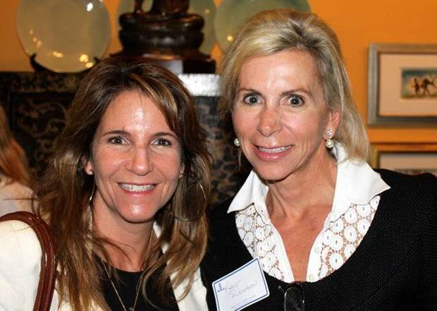 Roberta Roush and Katie Robertson were at the Oklahoma City Junior   League sustainer's event. PHOTO PROVIDED