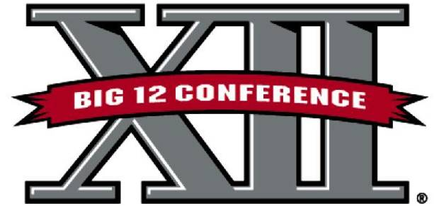 BIG 12 CONFERENCE, BIG TWELVE CONFERENCE, COLLEGE FOOTBALL LOGO / GRAPHIC
