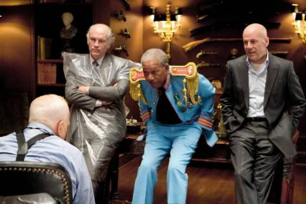 Richard Dreyfuss, John Malkovich, Morgan Freeman, Bruce Willis