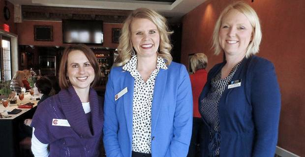 Tina Evans, Erin Engelke, Catherine Page-Creppon.