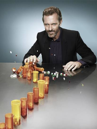 "Hugh Laurie of ""House"" - Fox Photo"